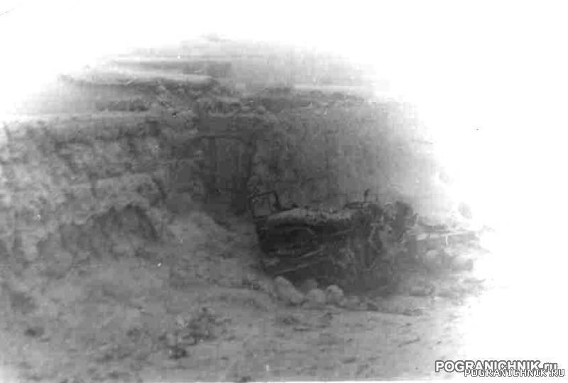 КСАПО ММГ Калайи-Нау ЗИЛ-131 после выстрела из РПГ