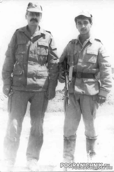 68 ПО Калайи-Нау 1988 разведчик с переводчиком