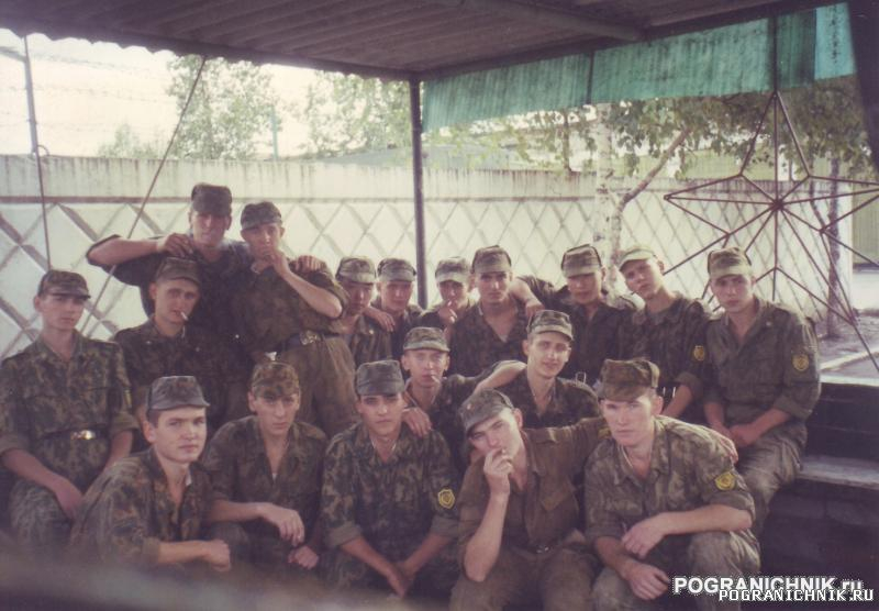 Учебка Батальон связи в/ч 2039 взвод дальней связи лето 1998