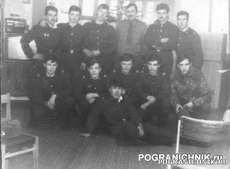 Новый 1990 год. Ленкомната 10 ПогЗ, Клайпедского отряда