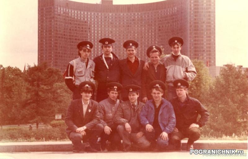 ВДНХ. Никельские. Рота связи. 1986 (или 87)