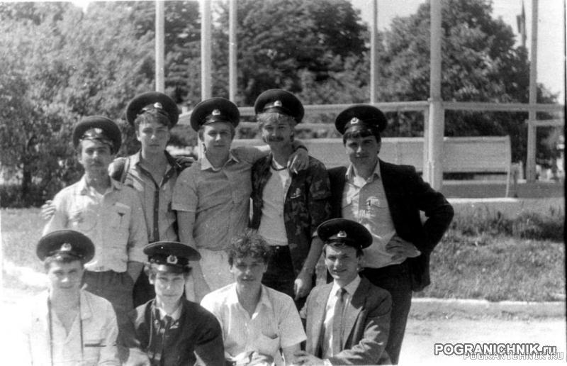 ЦПК им. отдыха. Никельские. Рота связи. 1987 (или 88г)