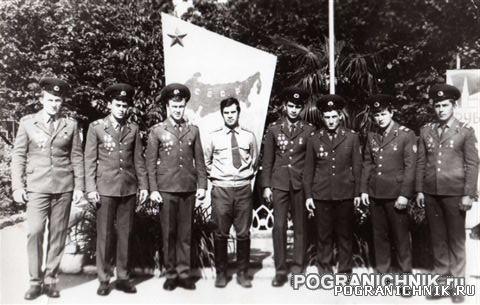 КЗакПО 44 ПАЗОВЫЙ  С начальником заставы Швытким