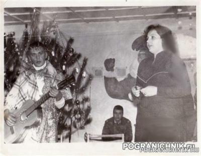 КЗакПО 44  ПАЗОВЫЙ   Новый 1986 Год  Я и жена замполита Коло