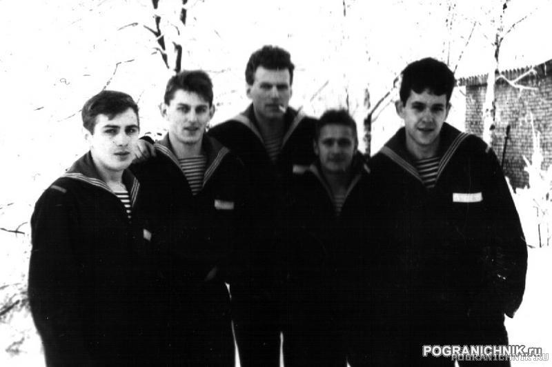 Высоцкий, братва с Узла связи, зима 1987-88.