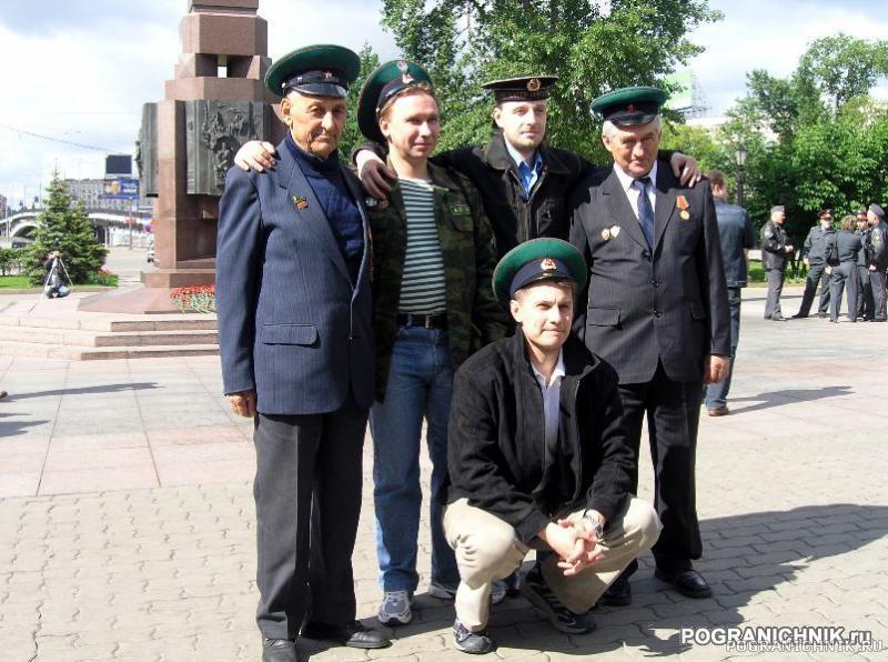 28 мая 2006 г. у памятника пограничникам отечества