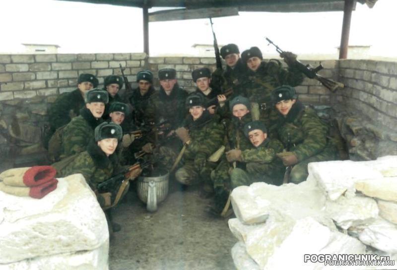Приаргунск. ПУЦ март 2006 год. УВ в курилке