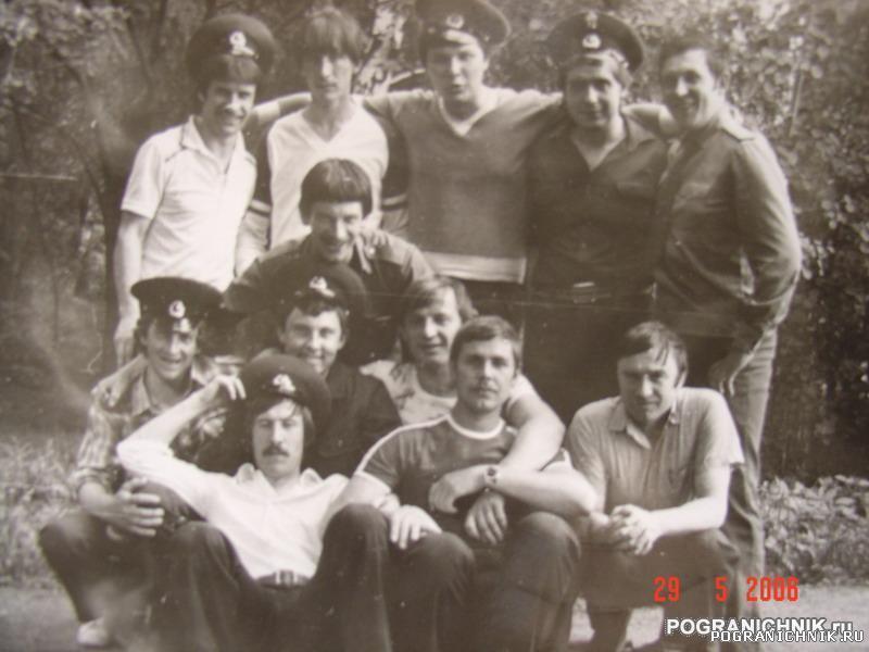 28 мая 1985г.Пограничники 95 ПОГО Покровское-стрешнино Москв