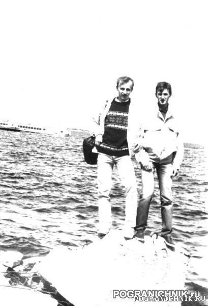 Таллинский пого, начальник клуба и ком.КР, 1992 год