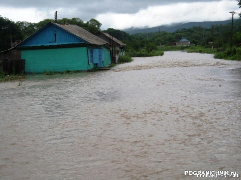 Хасанский пого, после тайфуна (у природы нет плохой погоды)
