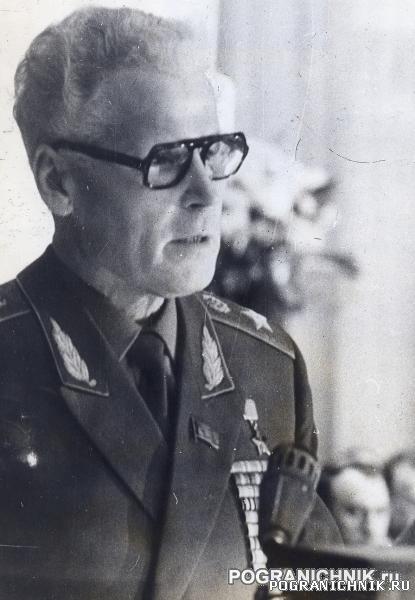 Генерал армии Матросов 1985г.