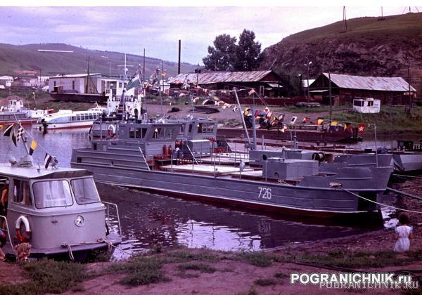 Сретенск, Затон на день ВМФ, 1987