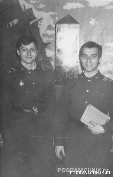 """ОКПП """"Ленинград"""", 82-84 гг. Мы с фазанчиком вдвоем"""