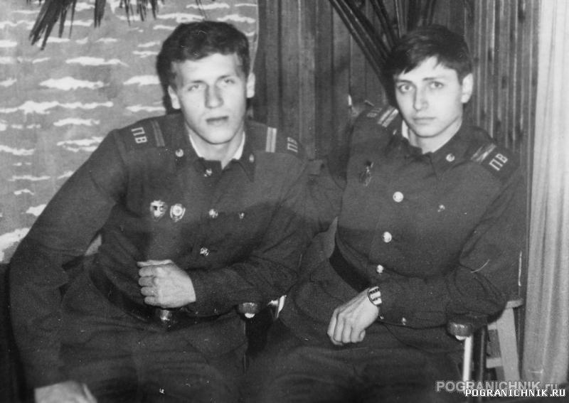 """ОКПП """"Ленинград"""", 82-84 гг. После наряда"""