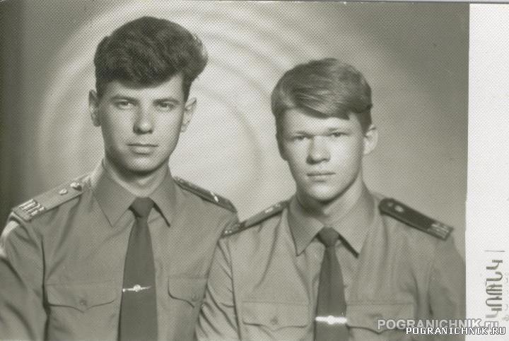 КзакПо Арташат в/ч 2446 (Годок Павлюченко Игорь справа)