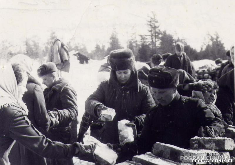 Алакуртти, 11 апреля 1970г. Субботник, посвященный 100 летию