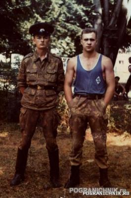 в/ч 2195 Август 1992 года Черновцы