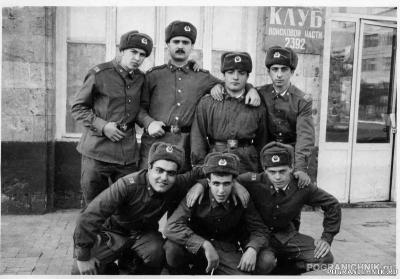 КзакПО, Арташат, Учебка 88-90.