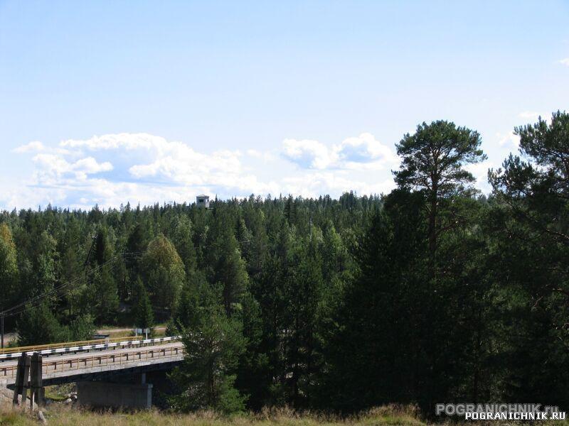 Калевальский ПО. Софпорог. Мост через Софьянгу.