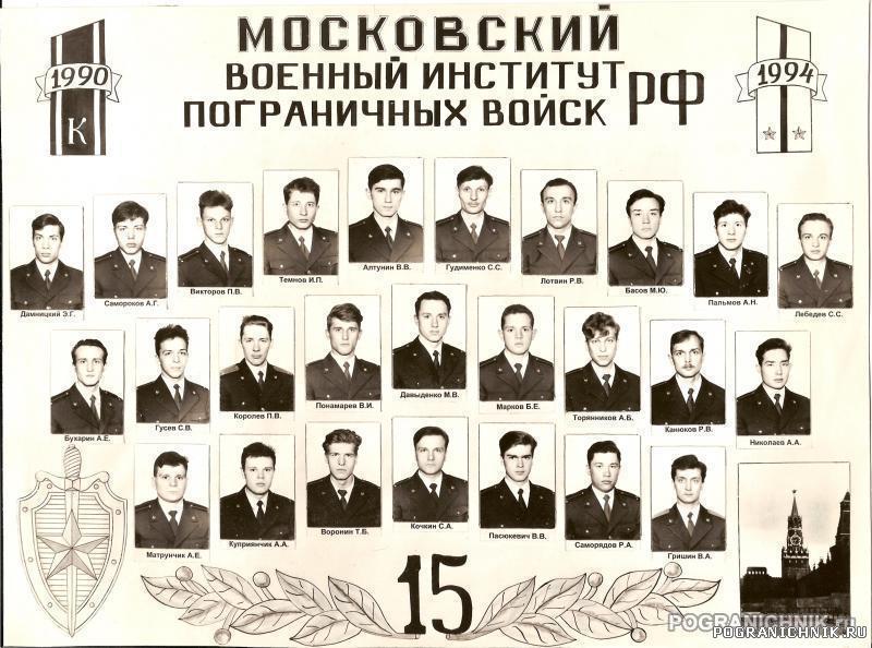 Выпуск 90-94 15 УПЗ