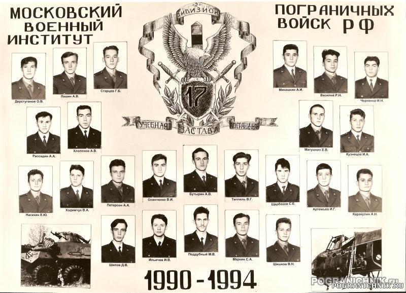 Выпуск 90-94 17 УПЗ