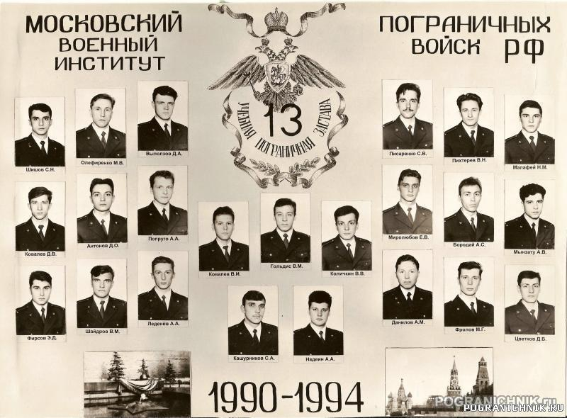 Выпуск 90-94 13 УПЗ
