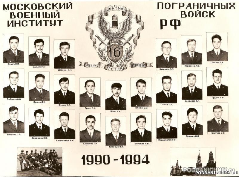Выпуск 90-94 16 УПЗ