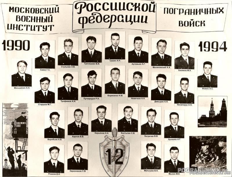 Выпуск 90-94 12 УПЗ