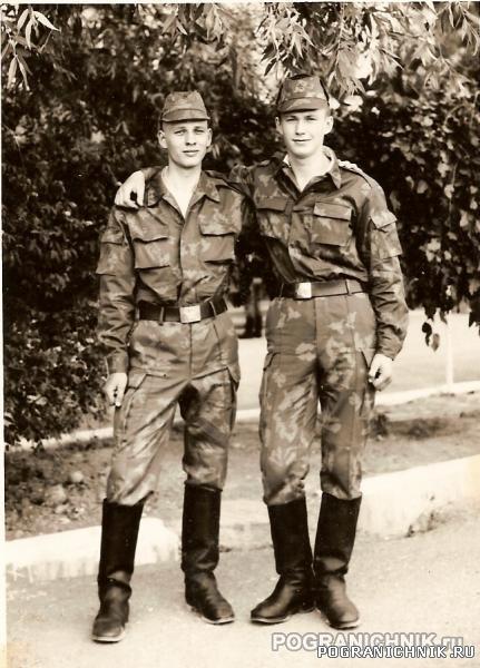 Два майские 89 на учебке Октемберян 1989г.