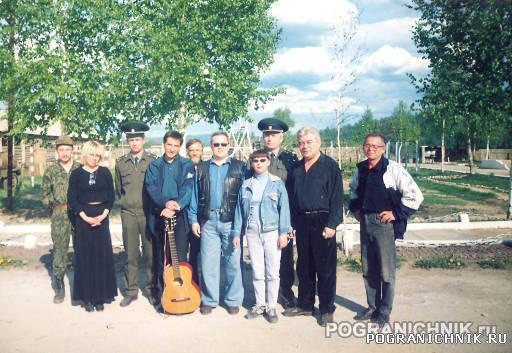 в гостях артисты на Усть Стрелке
