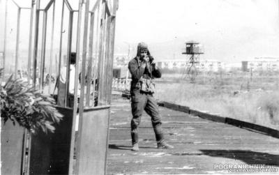 1990 Джульфа.Вид из Ирана