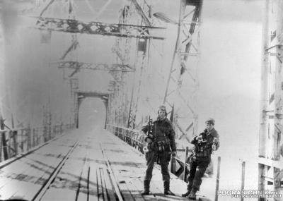 Джульфа.Ж.д. мост 1990