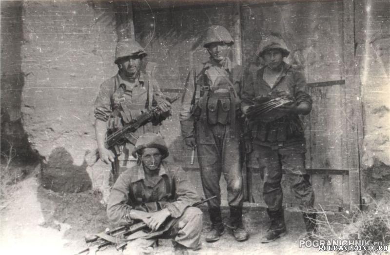 1-ая штурмовая застава Пянджской ДШМГ