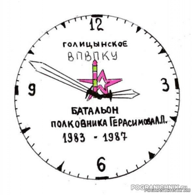 """Конкурс на изображение на часах """"Командирских"""""""