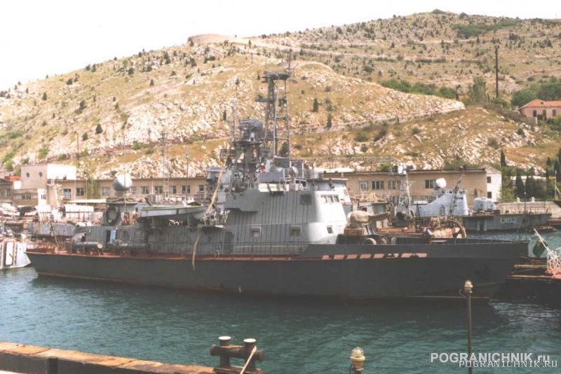 ПСКР-665 на ремонте в Балаклаве 1998-2000