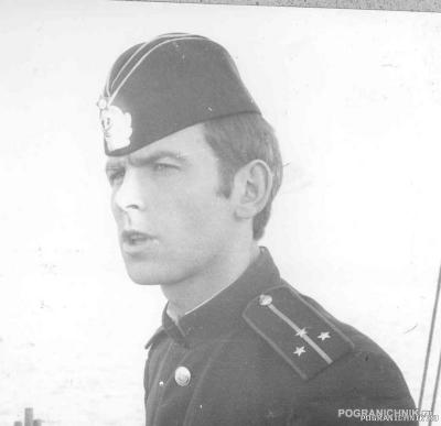 Командир корабля ПСКР 631