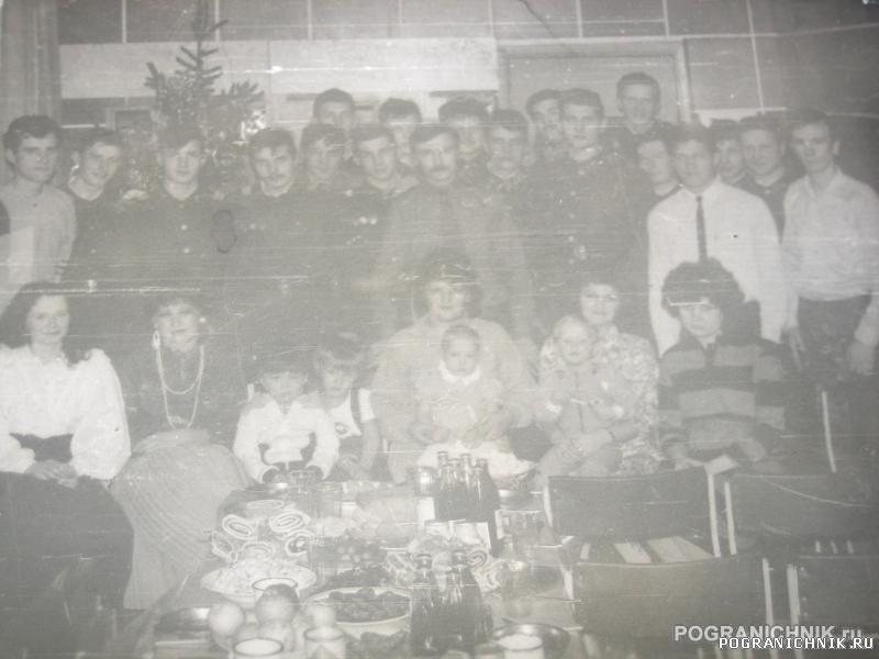 1989 г. Сновым годом! 15 застава им.М.Козлова