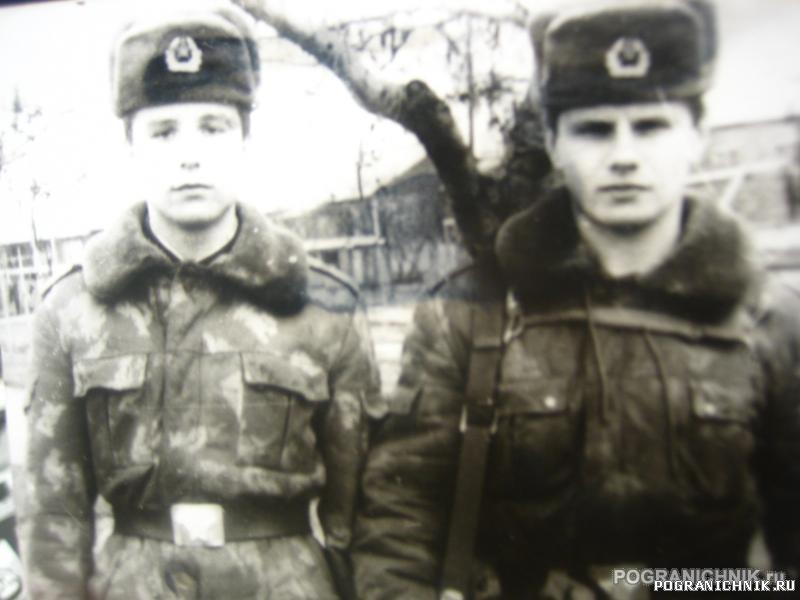 братья.15 застава имени М.Козлова -дмб-90 весна