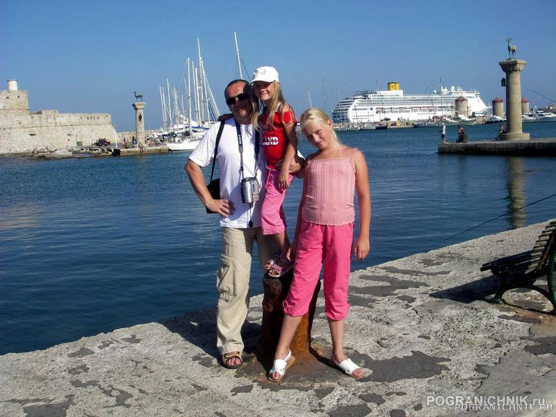 Я и Греция.2006.август