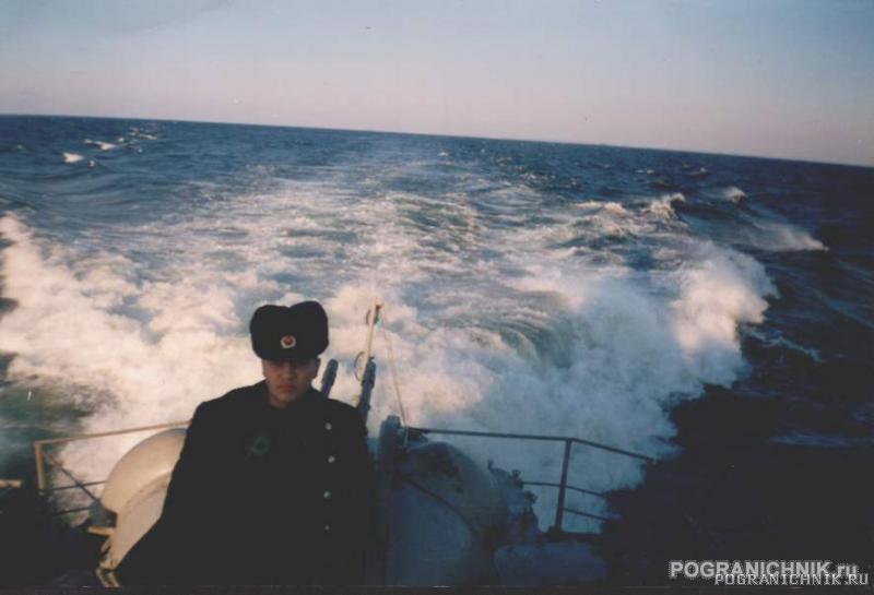 Кильватер ПСКР-708 Осень 1999г