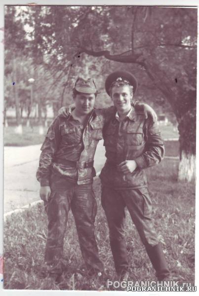 23 ПО.Клайпеда 1990-91 Я и Руслан Умралимов