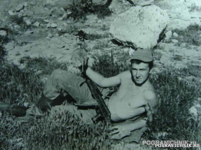 Весна 1987 года в гарнизоне Гардана в/ч 9878