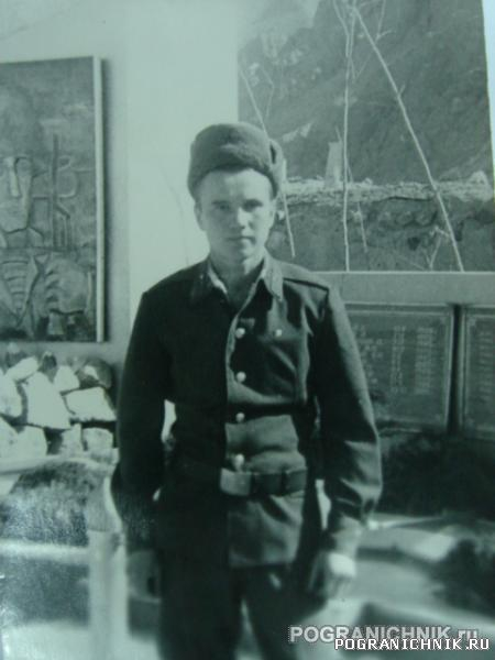Связист Инедеркин Илья гарнизон Гульхана 1987 г.