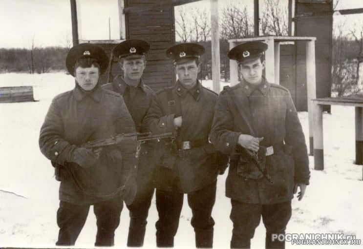 ребята с 2 УПЗ ШСС Палдиски, апрель 1988 г