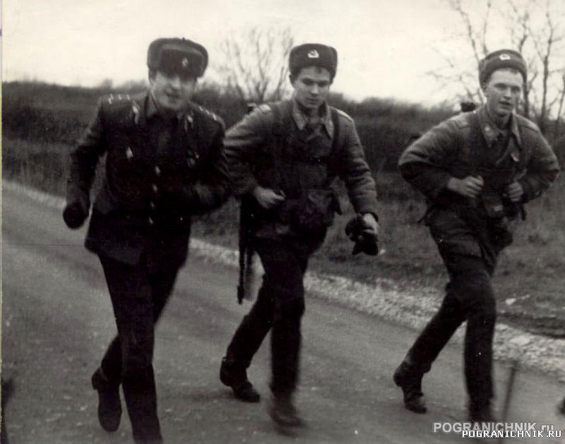 марш-броски и стрельба - специфика ШСС Палдиски, март 1988 г