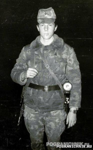 Рома Трофимов,ПЗ Азери,май 1989г