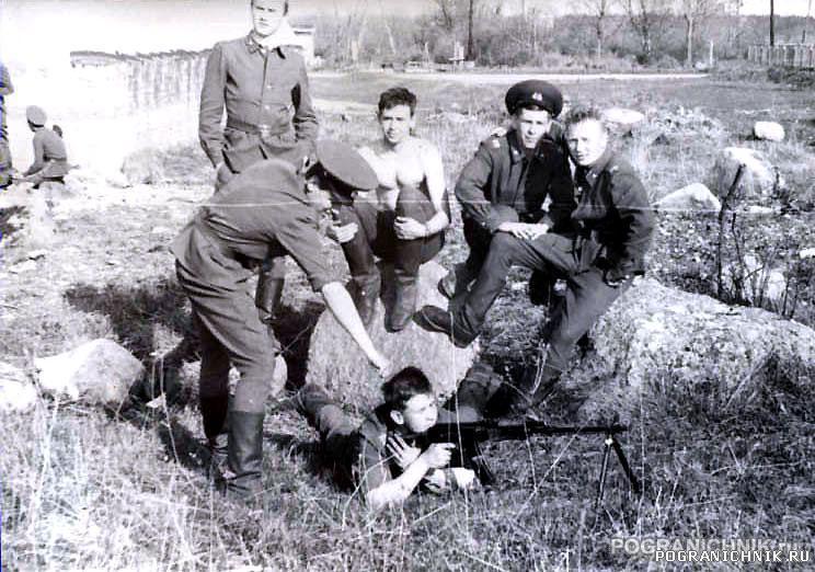 чистка оружия,май 1988г,ШСС Палдиски
