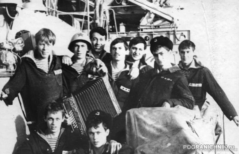 ПСКР 645, часть экипажа.