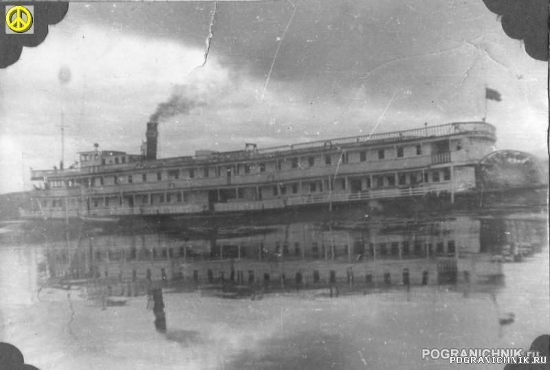 Китайский пароход. Лето 1982 года