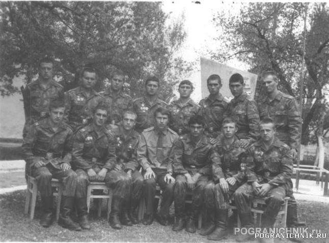 "Октемберянский ПОГО. 8 ПОГЗ (""Рибоза""). лето 1984"